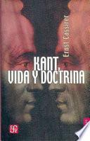 libro Kant, Vida Y Doctrina