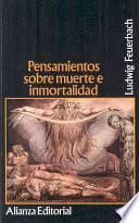 libro Pensamientos Sobre Muerte E Inmortalidad