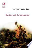 Política De La Literatura