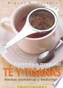 libro Aprenda A Preparar Té Y Tisanas