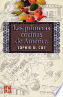 libro Las Primeras Cocinas De América