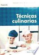 libro Técnicas Culinarias