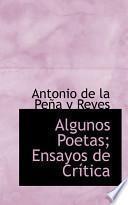 Algunos Poetas