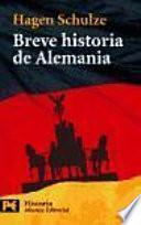 libro Breve Historia De Alemania