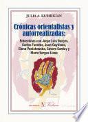libro Crónicas Orientalistas Y Autorrealizadas.