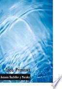 libro Cuba Primitiva