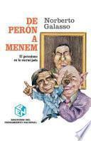 De Perón A Menem