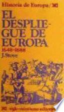 El Despliegue De Europa, 1648 1688