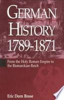 German History, 1789 1871
