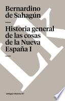 libro Historia General De Las Cosas De La Nueva España I
