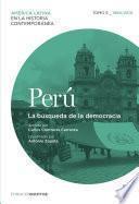 Perú. La Búsqueda De La Democracia. Tomo 5 (1960 2010)