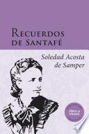 libro Recuerdos De Santafé