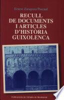 Recull De Documents I Articles D Història Guixolenca