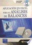 Aplicacion En Excel Para El Analisis De Balances