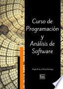 Curso De Programación Y Análisis De Software   Tercera Edición