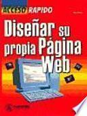 libro Diseñar Su Propia Página Web