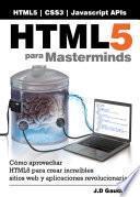 Html5 Para Masterminds