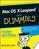 libro Mac Os X Leopard Para Dummies