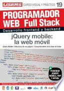 Programacion Web Full Stack 19   Jquery Mobile: La Web Móvil