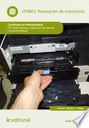 libro Reparación De Impresoras. Ifct0309