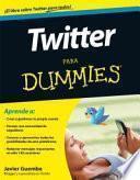 Twitter Para Dumm. Dummies