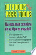 Windows 95/98 Para Todos