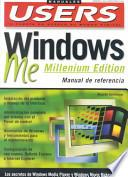 libro Windows Me Manual De Referencia