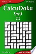 Calcudoku 9×9   Difícil   Volumen 10   276 Puzzles
