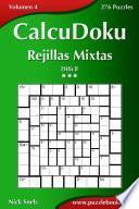 Calcudoku Rejillas Mixtas   Difícil   Volumen 4   276 Puzzles