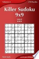 Killer Sudoku 9×9   Difícil   Volumen 4   270 Puzzles