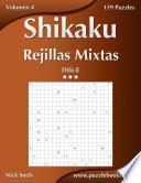 Shikaku Rejillas Mixtas   Difícil   Volumen 4   159 Puzzles