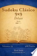 Sudoku Clásico 9×9 Deluxe   Medio   Volumen 53   468 Puzzles