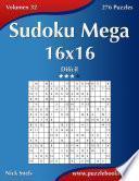 Sudoku Mega 16×16   Difícil   Volumen 32   276 Puzzles