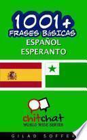 libro 1001+ Frases Básicas Español   Esperanto