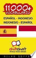 libro 11000+ Español   Indonesio Indonesio   Español Vocabulario