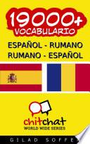 19000+ Español   Rumano Rumano   Español Vocabulario
