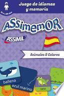 Assimemor   Mis Primeras Palabras En Español : Animales Y Colores