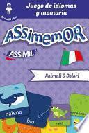libro Assimemor   Mis Primeras Palabras En Italiano: Animali E Colori