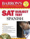 libro Barron S Sat Subject Test Spanish