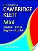 Dic Cambridge Klett Mini