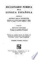 Diccionario Porrúa De La Lengua Española