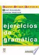 libro Ejercicios De Gramática