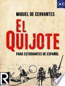 libro El Quijote Para Estudiantes De Español. Libro De Lectura. Nivel A2. Principiantes