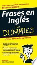 Frases En Ingles Para Dummies