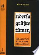 Gramática Funcional Del Alemán