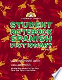 Random House Webster S Student Notebook Spanish Dictionary, Second Edition   Boy