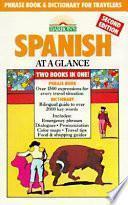 libro Spanish At A Glance