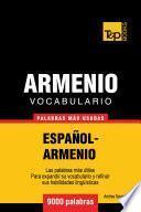 Vocabulario Español Armenio   9000 Palabras Más Usadas