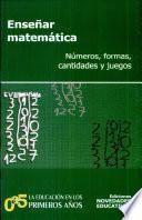 libro Enseñar Matemática