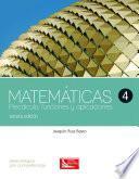 libro Matemáticas 4